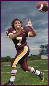 More Than Fans Women Taking The Field In Tackle Football