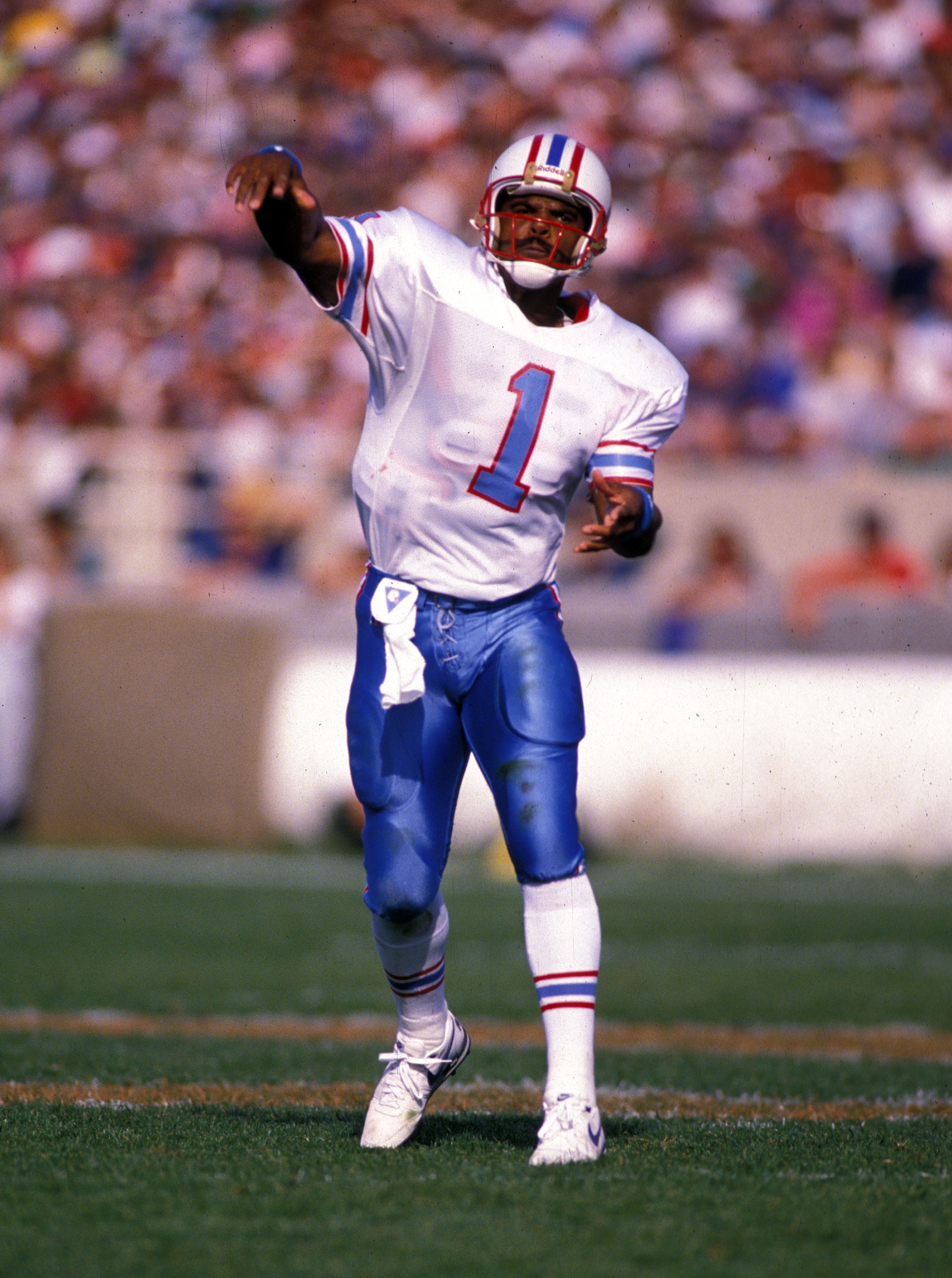 promo code 248fa a66c5 For Hall-of-Fame QB Warren Moon, philanthropy is his priority